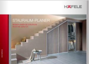 Broschüre Stauraum-Planer von Häfele