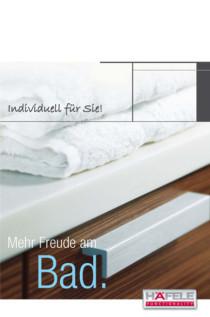 Broschüre Mehr Freunde am Bad von Häfele